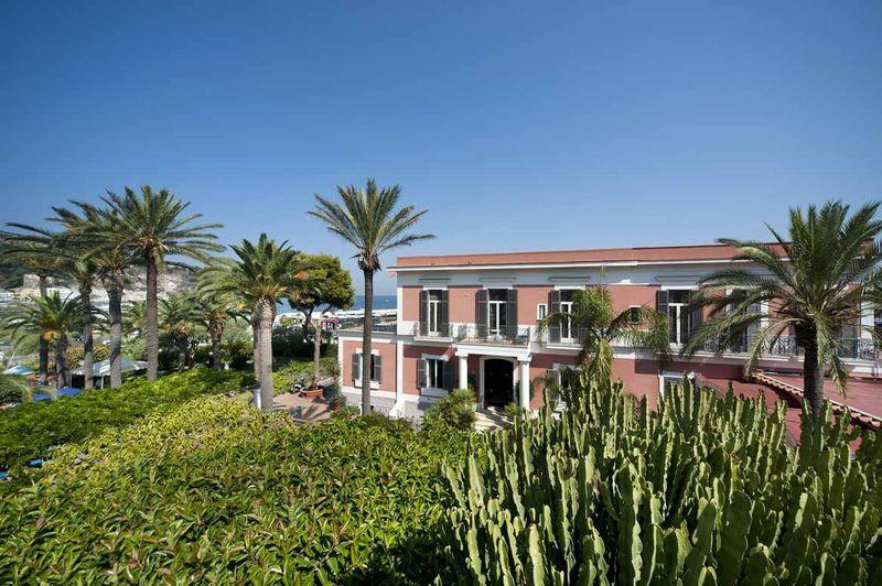 Hotel terme villa svizzera ischia hotel 4 stelle for Soggiorno carabinieri merano